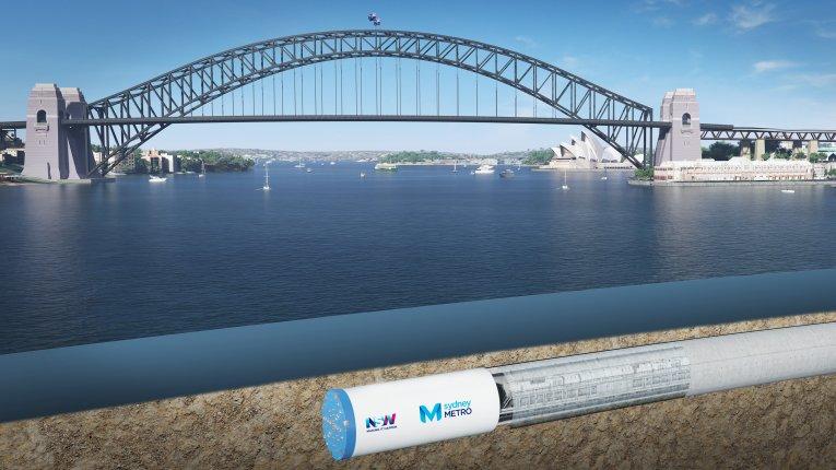 Sydney Metro Harbour Crossing